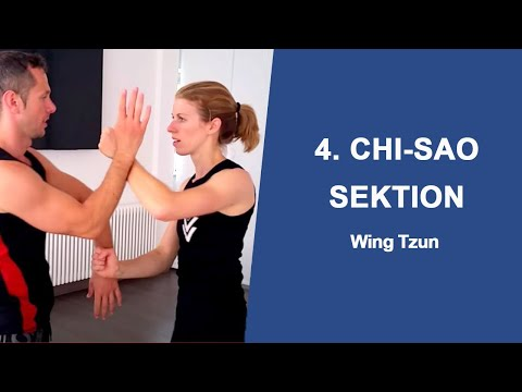 4. Chi-Sao Sektion Wing-Tzun Privatunterricht Sije Eva mit Sifu Sergej