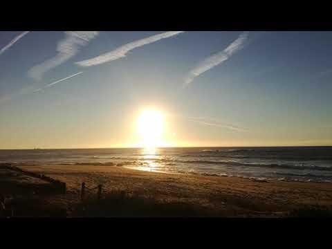 Pôr do Sol na Praia do Cabo do Mundo — Perafita — Matosinhos — 26 de Janeiro de 2019