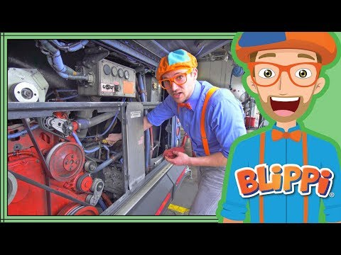 Thumbnail: Busses for Children with Blippi | The Blippi Bus Song for Kids