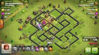 How to carry out a PERFECT 'Gi Wa Wi' ATTACK in Clash of Clans - AMAZING LOOT - Part 1 (2016.06.04)