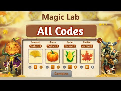 Magic Lab | All Codes Are Here With PROOF ☺️☺️ | Don't Miss | Castle Clash