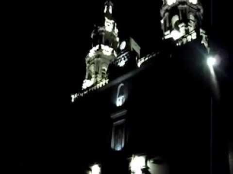 San Miguel el Alto 2012 - Inauguracion de la Iluminacion de la Parroquia de San Miguel Arcangel