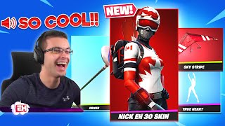 Reacting to the NËW Nick Eh 30 skin bundle in the Item Shop!