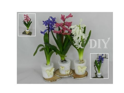 diy fr hlingsdeko mit wachs hyazinthen spring decoration with wax hyacinths youtube. Black Bedroom Furniture Sets. Home Design Ideas