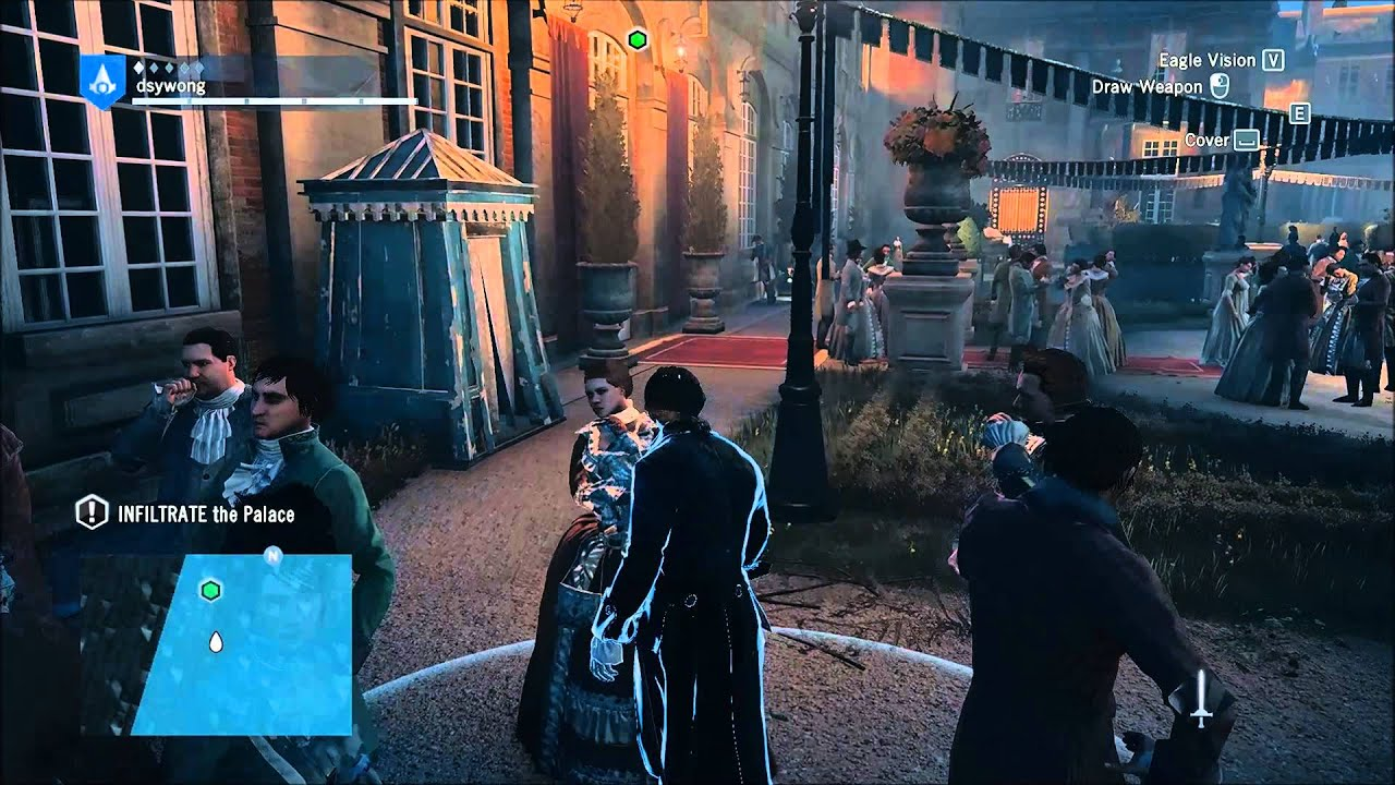 Assassin S Creed Unity High Society Part 1 Youtube