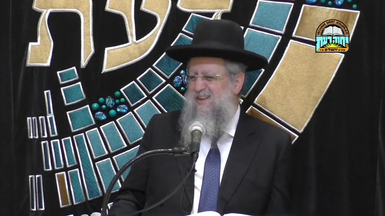 הרב דוד יוסף שליט