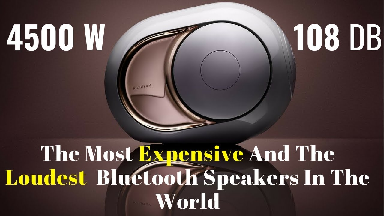 Best Loudest Bluetooth Speakers Top 5 Loudest Portable Speakers Youtube