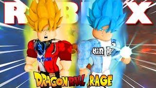 Roblox | DEVENIR SUPER SAIYAN bleu et gorilles en SSJ VAMY Dragon Ball-Rage #2 | Rupture de Kia