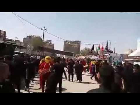 Qarbala sher e fiza muharram 2016