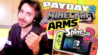 OPINIÓN del GRANDIOSO Nintendo Direct Abril 2017 | ARMS, MINECRAFT, SPLATOON 2 y más!