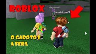 ROBLOX - Ana & Bela e o Garoto Marretão(Flee The Facility)