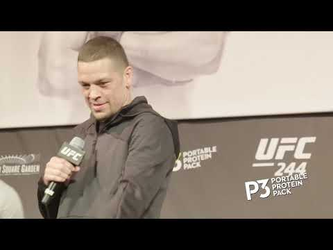 UFC 244: Обзор открытой тренировки
