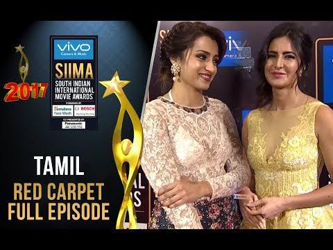 SIIMA 2017 - Tamil Curtain Raiser & Red Carpet | Full Episode