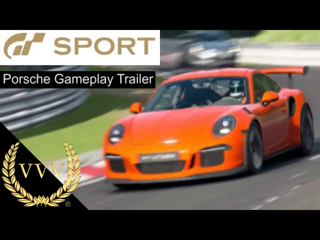 GT Sport - Porsche Gameplay Trailer