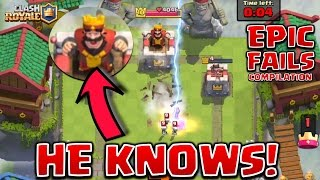 Clash Royale - *TOTAL FAILS!* dumbest spells EVER! (compilation)