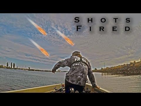 SHOT At While Fishing In STOCKTON CA!!!!!!!!!