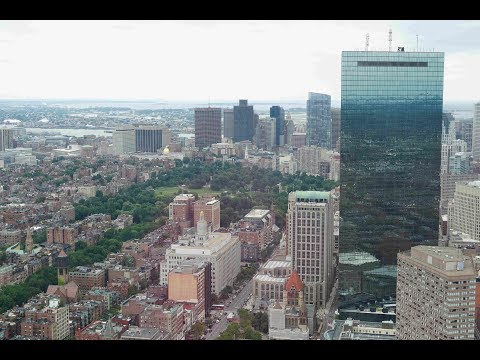 Boston, view form the Prudential Tower [July 2017]