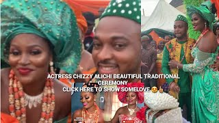 Big Congrats Watch Chizzy Alichi Traditional Marriage Ceremony Happy Married Life CHIZZY