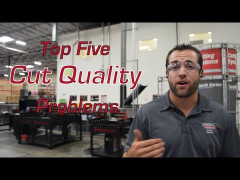Top Five CNC Plasma Cutting Cut Quality Problems: Solved!