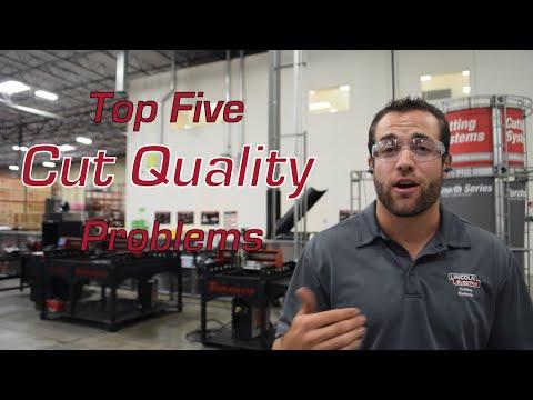 Top Five CNC Plasma Cutting Cut Quality Problems: Solved!