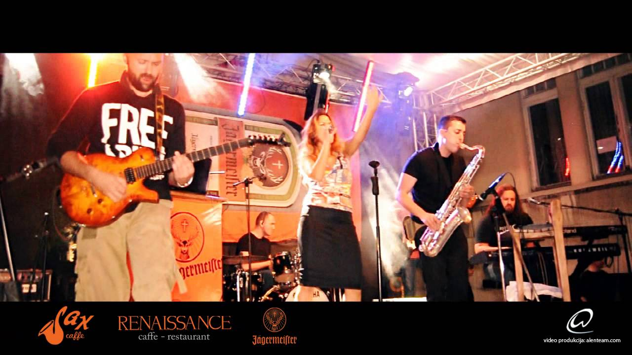 Jagermeifter Street Party Sax Renaissance Youtube