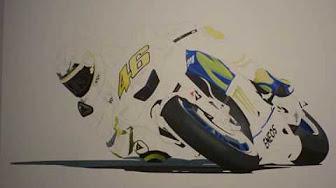 Gambar Kartun Valentino Rossi Gambar Kartun Berhijab Gambar