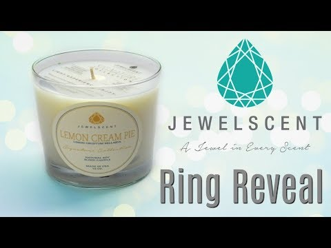 JewelScent Ring Reveal - Lemon Cream Pie Candle!