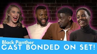 Black Panther - How the Cast Bonded on Set!