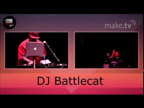 DJ BATTLECAT @ LA Recording School Open House
