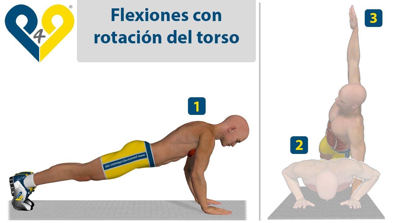 Ejercicios para hacer flexiones de brazos