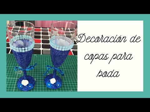 decoración-de-copas-con-escarcha-y-flores-glasses-decorated-with-hoardfrost-and-flowers