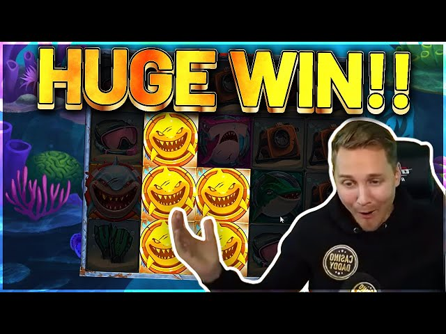 Razor Shark Big win - HUGE WIN  on Casino Games from Casinodaddy LIVE STREAM