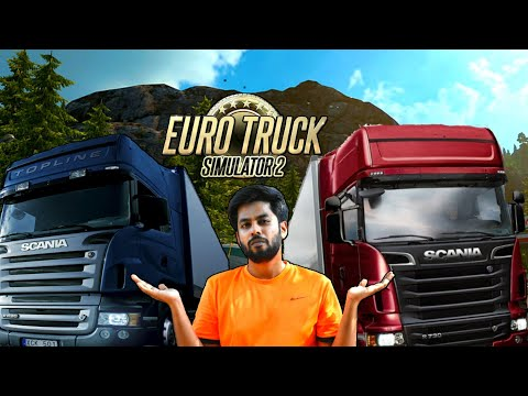 Euro Truck Simulator  2 tamil Live  🔴Songs every 5 mins ( Tamil Live 30/11/2020)
