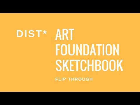 Art & Design Foundation Diploma D* Sketchbook