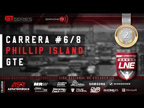 iRacing | GT Series | V LNE | 2ª División | Carrera 6