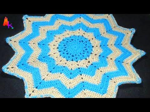 Crochet- Table Mat/Thalposh[Hindi]
