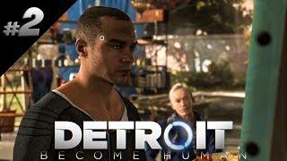Detroit: Become Human PL #02 - MARKUS ARTYSTA!