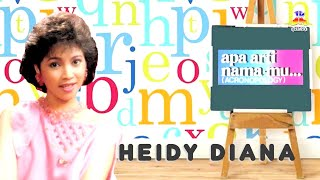 Heidy Diana - Apa Arti Namamu (Official Lyric Video)