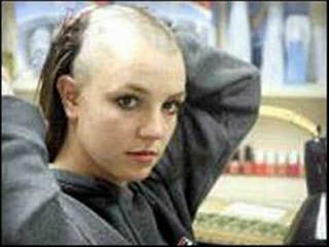 Britney head her shaved spear video