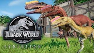 Процератозавр - Драки с Рапторами и Травоядными Proceratosaurus Jurassic World Evolution