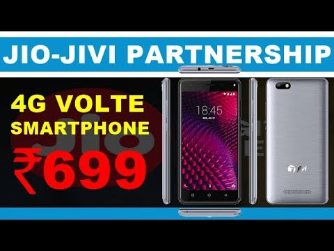 ef88fb3db81 Reliance Jio and Jivi Mobiles Joins Hands to Offer a 4G VoLTE Smartphone at  Price of Rs 699