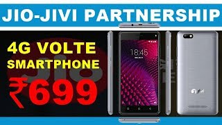 Reliance Jio and Jivi Mobiles Joins Hands to Offer a 4G VoLTE Smartphone at Price of Rs 699