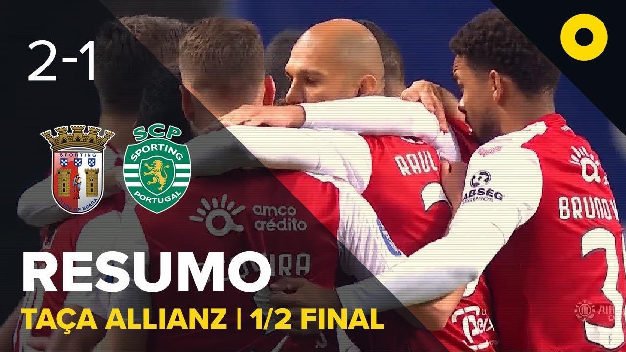Брага  2-1  Спортинг Лиссабон видео