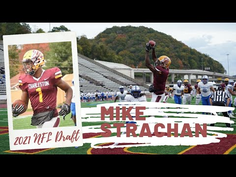 Mike Strachan, WR, University of Charleston | 2021 NFL Draft Official Highlights