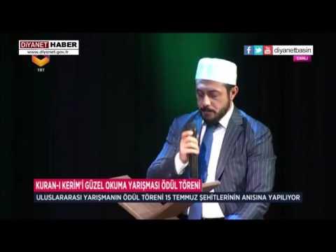 """Ali TEL """"Kur'an-ı Kerim'i Güzel Okuma Yarışması"""" ödül töreninde Kuran Tilaveti"""
