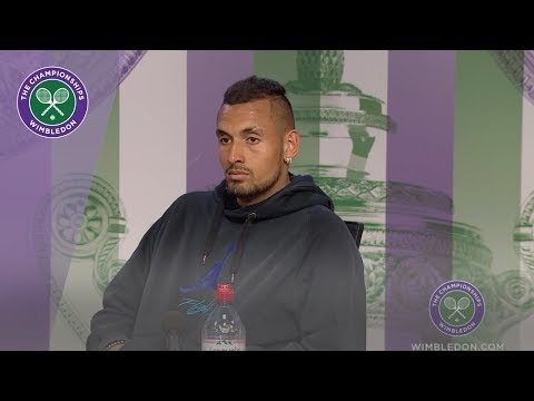 Nick Kyrgios Wimbledon 2019 Second Round Press Conference