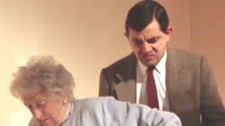 Mr. Bean | Elderly people on stairs | Mr. Bean Official