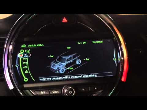 How To Reset Your Tyre Pressure Monitor With Navigation Youtube