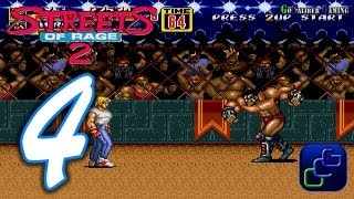 Streets Of Rage 2 Walkthrough - Part 4 - AXEL Stage 4