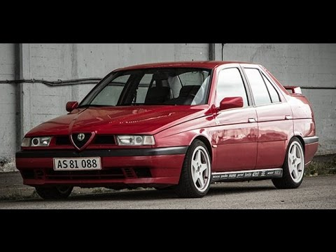 alfa romeo 155 ts dtm edition 1 of 500 1993 youtube. Black Bedroom Furniture Sets. Home Design Ideas